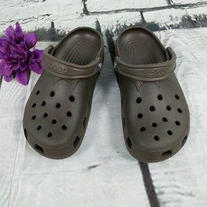 Croc Sandles , Brown